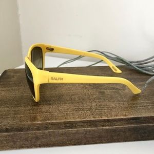 Ralph Lauren Accessories - Bright Yellow Ralph Lauren Sunglasses